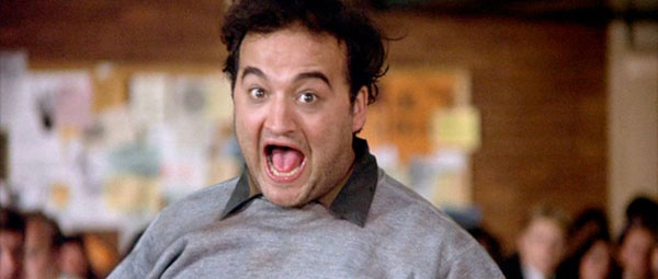 Animal House - Bluto (Belushi): 'Food fight..!'