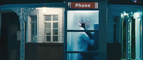 Stoker: phone booth action...