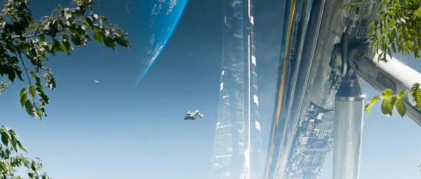 Elysium: mooie combinatie van visual fx en production design...