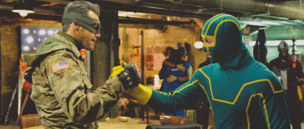 Kick-Ass 2: Carrey als Colonel Stars and Stripes; Taylor-Johnson als Kick-Ass