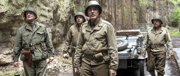 The Monuments Men: Murray, Leonidas, Clooney en Balaban...