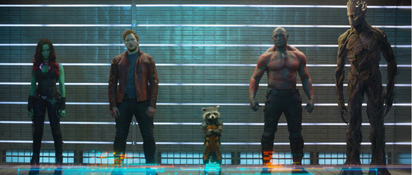Guardians of the Galaxy: ons bonte gezelschap helden...