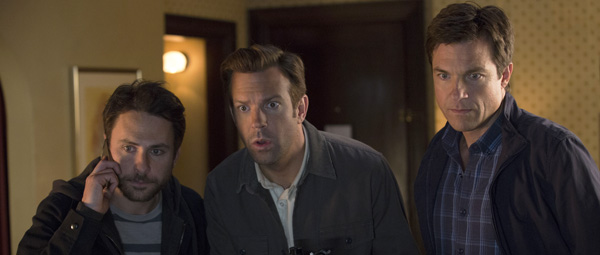 Horrible Bosses 2: Dale, Kurt en Nick, clueless as always...