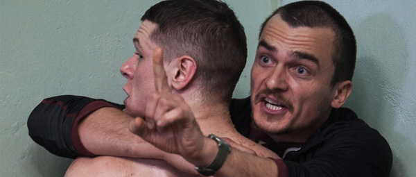 Starred Up: O'Connell en Friend in een intens heftig moment...